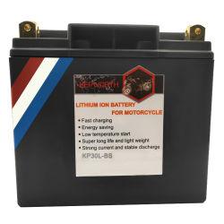 Batteria di carica veloce del litio del motoscafo di Kepworth 12V 30L-BS LiFePO4 Motorycle con il certificato del Ce