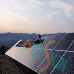 La masse solaire Mount-Buried sol Projet de structure