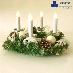 Magic Automatic Casa Branca quente de LED luzes de Natal Velas