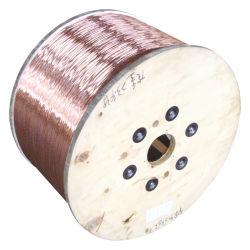 El CCA/ECCA redonda esmaltada Copper-Clad Alambre de aluminio para transformador/moderno instrumento/Generato