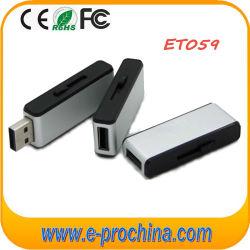 Regalos de promoción de la memoria de Metal Pen Drive de disco Flash USB (ET-059)