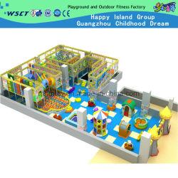 L'intérieur du château de grand méchant de l'équipement de jeux pour enfants (H14-0829)