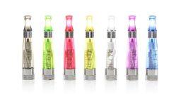 EGO elettronico 2.4ohm CE4+ Clearomizer della sigaretta di alta qualità con le punte di colore del fiammifero