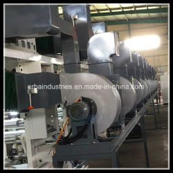 Le transfert de chaleur de l'impression de la machine pour BOPP Films PVC PET