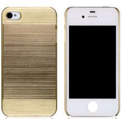 Caso de PC mais recentes para iPhone 4 5 Leather-Liked Bitcoin-Styled