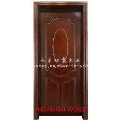 O PVC/MDF portas de madeira sólida com preço competitivo