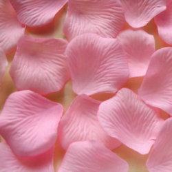 Seda coloridas festas de casamento Decotative flores com pétalas de rosa de papel