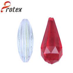 Novo Design em acrílico Cristal barata cordões de Diamante