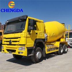 8cbm 10cbm 6X4 Cement HOWO die de Vrachtwagen van de Concrete Mixer van de Pomp mengen