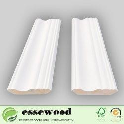 白人の発動を促されたFjは鋳造物のクラウンモールディングの装飾的な木製のトリムの鋳造物を放射する