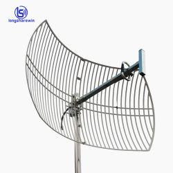 Antenna parabolica esterna superiore di griglia di prezzi di fabbrica 5.8GHz 806-960MHz WiFi TV con 16dB 18dB