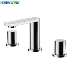 욕실 세면대 믹서 스테인리스 스틸 304 브러시 욕조 물 을 누릅니다