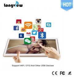 Gros gros comprimé de 10 pouces 1280*800 comprimés Phablet Android Quad Core 3G Comprimé appel téléphonique