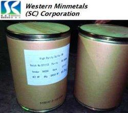 El 99,999% 99,9999% de azufre de alta pureza (azufre) en la WMC