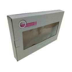 PVC 창이 있는 폴딩 패키지 박스