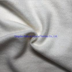 Tessuto del panno morbido spazzolato cotone organico della canapa (NST-0001)
