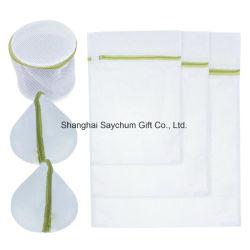 Logo personnalisé un sac à linge filet de lavage de la Bonneterie Saver protéger sac de lavage de maillage