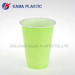16oz Copa do solo de plástico branco verde