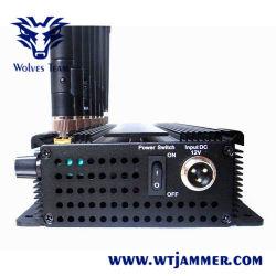 8 Stoorzender van de Telefoon van de Cel van de Hoge Macht van banden de Regelbare 3G 4G (met WiFi 4G LTE + 4G Wimax)