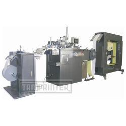 Filme de Rolo para Rolo condutiva Impressora Tela+Túnel máquina de morte do secador