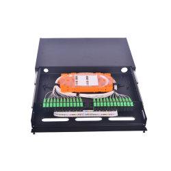 ODF Fábrica 48 Core OEM de suministro de fibra óptica de trama de distribución