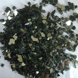 Branelli di vetro del vetro piano delle gemme del riempitore rotondo all'ingrosso alla rinfusa