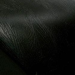 Zwart superieur handvoelend PU-leer voor handtassen en schoenen (HSK113)