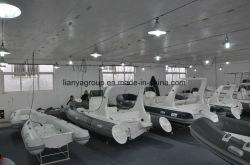 Liya 22метров PVC или Hypalon Sport лодки FRP ребра на лодке