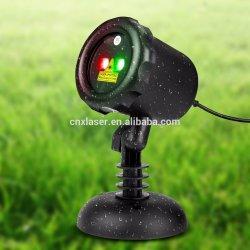 먼 지배할 수 있는 빨강과 녹색 Laser 옥외 정원 투상 크리스마스 훈장 점화