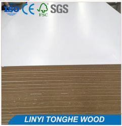 Tonghe 12мм ламинированного МДФ, меламином белого ламината высокой плотности из фибрового картона