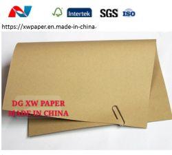 De het bruine Document van Kraftpapier en Voering van Kraftpapier