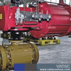 Cast & industrielles en acier inoxydable forgée monté le tourillon avec l'embase RF de clapet à bille ou Bw extrémités