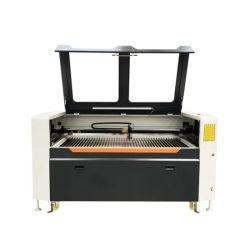 Jinan-Fabrik-Zubehör CO2 Laser-Ausschnitt-Gravierfräsmaschine für hölzernes ledernes Gewebe-acrylsauerpapier 1390/1610/9060