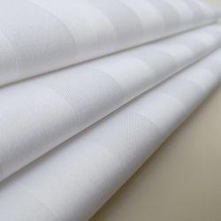 T/C (50/50) 3cm Stripe sateen sbiancato 240t/260t foglio di letto dell'hotel Tessuto