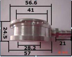 고품질 Compeitive 가격 모든 알루미늄 방열기를 위한 알루미늄에 의하여 기계로 가공되는 충전물 목 (Fn 103)