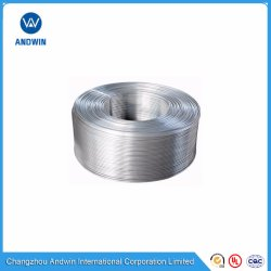 Tubo de Alumínio 1060/1070/3003/6061, Bobina de alumínio, Hylife Tubo de alumínio, Tubo de alumínio de extrusão para frigorífico e congelador