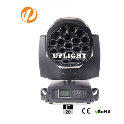 DJ 디스코 단계 빛을%s 최대 최신 판매 19PCS*15W RGBW 4in1 꿀벌 눈 LED 이동하는 헤드