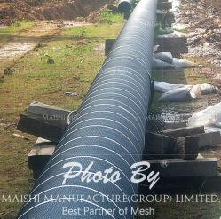 Rohrleitung-Plastik verdrängte schützt Ineinander greifen