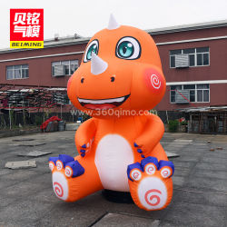 Camoscio Personalizzato Giant Outdoor Commercial Advertising Dinosaur Inflatable Standing Animal Model For Sale (Bmlw09)