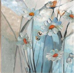 De grote Geschilderde Hand bloeit Kunstwerk van het Decor van het Olieverfschilderij van de Kunst van de Muur van het Canvas het Moderne Eigentijdse (30X 40 duim) gf-P190527100