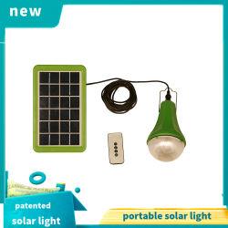 3W de Zonnepanelen van Poly met 3W bouwstijl-binnen LED Bulbs Solar Home Lighting System Battery