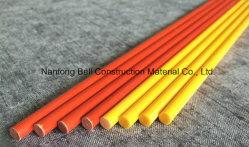 La fibre de verre Stick, tige en fibre de verre solide, tige de solides de PRF, GRP Tige haute résistance.