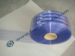 Чистой синей полосы из ПВХ шторки для холодильной камеры
