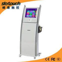 19дюйма информации киоск с сенсорным экраном сканера и принтера