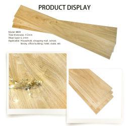 100% 防水ベストスレート効果ナチュラルストーン PVC クリックビニール 床はバスルーム用
