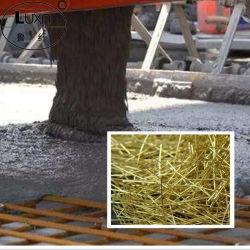 Fibras de acero bañado en cobre para la construcción del puente