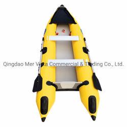 Marcação barato pesca insuflável de PVC 365 2 Pessoa Kaboat