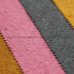 Couro colado, couro tecido bando de PU e tecido de revestimento de PVC Use