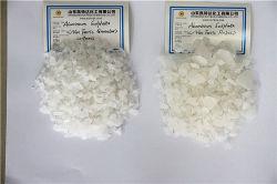 Обработка воды для гранулированного порошка сульфата алюминия с низкой цене