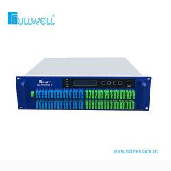 64 puertos de 2U Pon CATV amplificadores ópticos con WDM